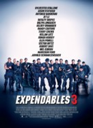 The Expendables 3 - Slovak Movie Poster (xs thumbnail)