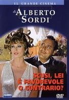 Scusi, lei è favorevole o contrario? - Italian DVD movie cover (xs thumbnail)