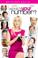 What's Your Number? - DVD movie cover (xs thumbnail)