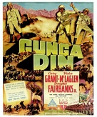 Gunga Din - Australian Movie Poster (xs thumbnail)