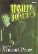 House on Haunted Hill - DVD cover (xs thumbnail)