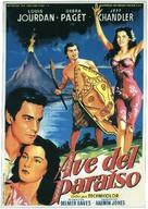 Bird of Paradise - Spanish Movie Poster (xs thumbnail)
