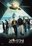 X-Men: First Class - Swedish Movie Poster (xs thumbnail)