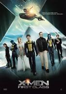 X-Men: First Class - Swedish Movie Poster (xs thumbnail)