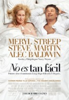 It's Complicated - Spanish Movie Poster (xs thumbnail)