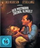 The Postman Always Rings Twice - German Movie Cover (xs thumbnail)