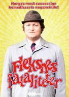 """Fleksnes fataliteter"" - Danish DVD movie cover (xs thumbnail)"