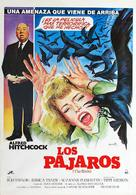 The Birds - Spanish Movie Cover (xs thumbnail)