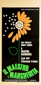 Il maestro e Margherita - Italian Movie Poster (xs thumbnail)