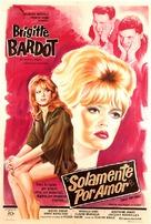 La bride sur le cou - Argentinian Movie Poster (xs thumbnail)