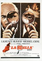 Sleuth - Spanish Movie Poster (xs thumbnail)