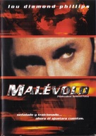Malevolent - Mexican DVD cover (xs thumbnail)