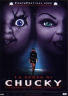 Bride of Chucky - Italian DVD cover (xs thumbnail)