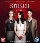 Stoker - British Blu-Ray movie cover (xs thumbnail)