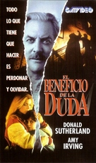 Benefit of the Doubt - Argentinian VHS cover (xs thumbnail)