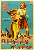 Bullwhip - Argentinian Movie Poster (xs thumbnail)
