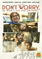 Don't Worry, He Won't Get Far on Foot - DVD movie cover (xs thumbnail)