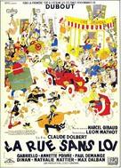 La rue sans loi - French Movie Poster (xs thumbnail)