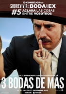 Tres bodas de más - Spanish Movie Poster (xs thumbnail)