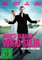 Salvation Boulevard - German DVD cover (xs thumbnail)