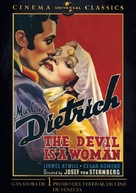 The Devil Is a Woman - Spanish Movie Cover (xs thumbnail)
