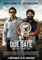 Due Date - Dutch Movie Poster (xs thumbnail)