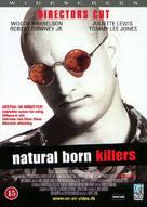 Natural Born Killers - Danish DVD movie cover (xs thumbnail)