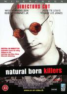 Natural Born Killers - Danish DVD movie cover (xs thumbnail)
