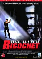 Ricochet - Danish Movie Cover (xs thumbnail)