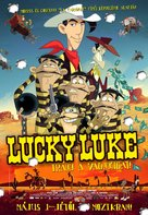 Tous à l'Ouest: Une nouvelle aventure de Lucky Luke - Hungarian Movie Poster (xs thumbnail)
