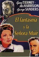 The Ghost and Mrs. Muir - Spanish Movie Cover (xs thumbnail)