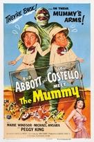 Abbott and Costello Meet the Mummy - Movie Poster (xs thumbnail)