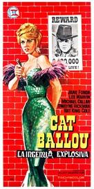 Cat Ballou - Spanish Movie Poster (xs thumbnail)
