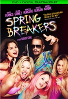 Spring Breakers - DVD movie cover (xs thumbnail)