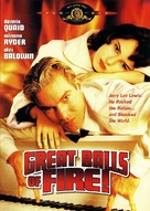 Great Balls Of Fire - DVD cover (xs thumbnail)