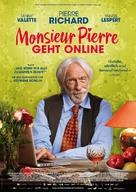 Un profil pour deux - German Movie Poster (xs thumbnail)