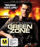 Green Zone - New Zealand Blu-Ray movie cover (xs thumbnail)