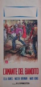 Singing Guns - Italian Movie Poster (xs thumbnail)