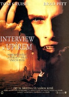 Interview With The Vampire - Czech Movie Poster (xs thumbnail)