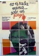 No es nada, mamá, sólo un juego - Spanish Movie Poster (xs thumbnail)