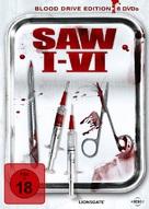 Saw VI - German DVD cover (xs thumbnail)