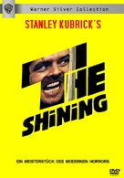 The Shining - German DVD movie cover (xs thumbnail)