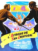 Pirates of Blood River - French Movie Poster (xs thumbnail)