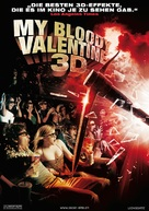 My Bloody Valentine - Swiss Movie Poster (xs thumbnail)