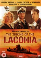 """""""The Sinking of the Laconia"""" - British DVD movie cover (xs thumbnail)"""