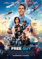 Free Guy - Swedish Movie Poster (xs thumbnail)