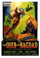The Thief of Bagdad - German DVD cover (xs thumbnail)