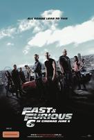 Furious 6 - Australian Movie Poster (xs thumbnail)