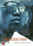 Murder At 1600 - Danish DVD movie cover (xs thumbnail)