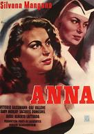 Anna - German Movie Poster (xs thumbnail)